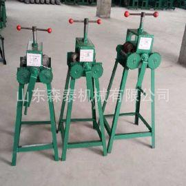 供应小型手动弯管机 手摇立式弯管机 车棚大棚管弯圆机厂家