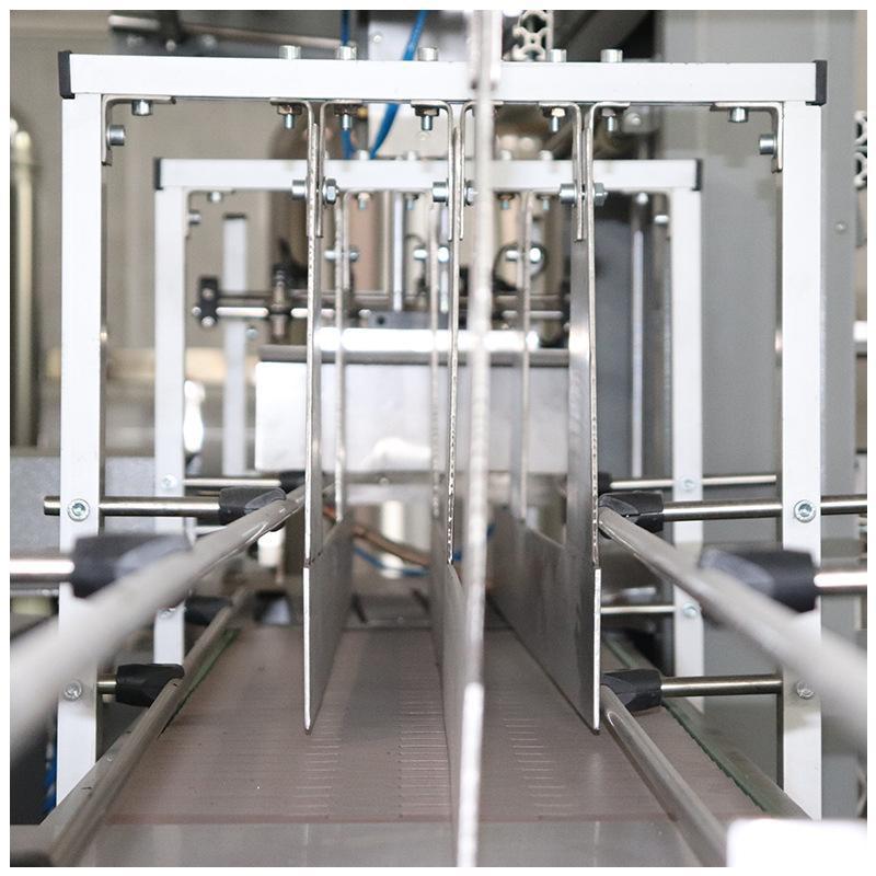 全自动袖口式热收缩膜包机矿泉水饮料薄膜塑封机