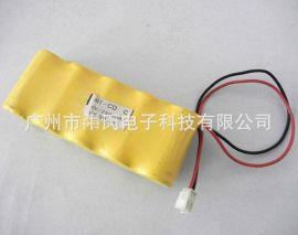 牛氏订制 C型 镍镉 3000mah NI-CD 6V 应急灯 电池组 LED灯 设备电池