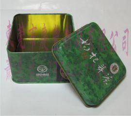 枸杞芽养生茶叶礼品罐,红色健康枸杞,芽茶包装铁罐