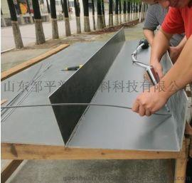 pvc板厂家 pvcAB板 浅灰色 密度1.6 防腐板pvc化工槽板