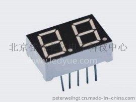 0.39英寸双二2位led数码管红光北京天津河北数字面板显示SMA3922AH/BH