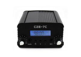 传洲电子 CZE-7C 立体声调频发射机调频1W/7W广播调频发射器