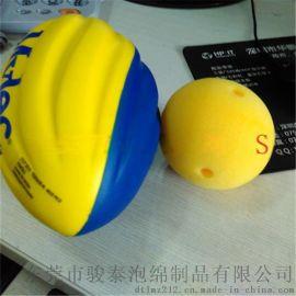 【现模供应】180*105MM高品质PU粉橄榄球发泡厂家直销