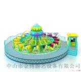 中山大型兒童遊樂設備廠/公園遊樂設備38人風火輪