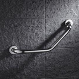 浴室带皂框曲型扶手 洗手台老人防滑把手