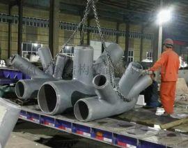 铸钢件生产厂家吴桥盈丰铸钢,制造重型钢结构铸钢节点
