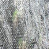 廈門邊坡復綠勾花網 客土噴播掛網 14#鍍鋅鐵絲網