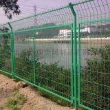 公路护栏网-绿色铁丝网-浸塑围栏