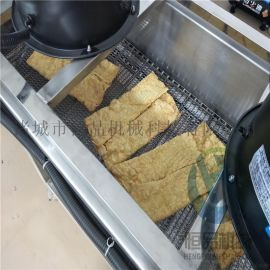 豆皮油炸设备 厂家直销全自动腐竹油炸机器