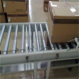 铝型材纸箱动力辊筒输送机 无动力镀锌滚筒线xy1