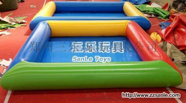 河南三乐批发销售充气海洋球池新款组合池