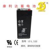 电子秤、播放器用4v4.5ah铅酸蓄电池阀控式密闭型蓄电池批量定购价格优惠