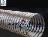 鑫翔宇卫生级耐磨PU镀铜钢丝伸缩吸尘软管