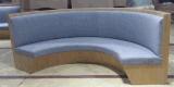 专业定做异形餐厅卡座 圆弧形卡座沙发厂家定做