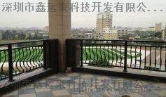 江西阳台隔离护栏厂家直销 江西安防阳台栏杆制作安装