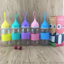 武汉玻璃水杯 武汉漂流瓶生产厂家 蘑菇杯 礼品杯