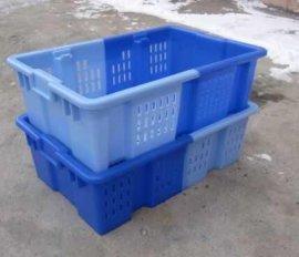 河南颠倒可堆式塑料周转筐-塑料筐