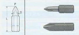 供应威威VESSEL品牌气动工具用起子头B35十字短头批头