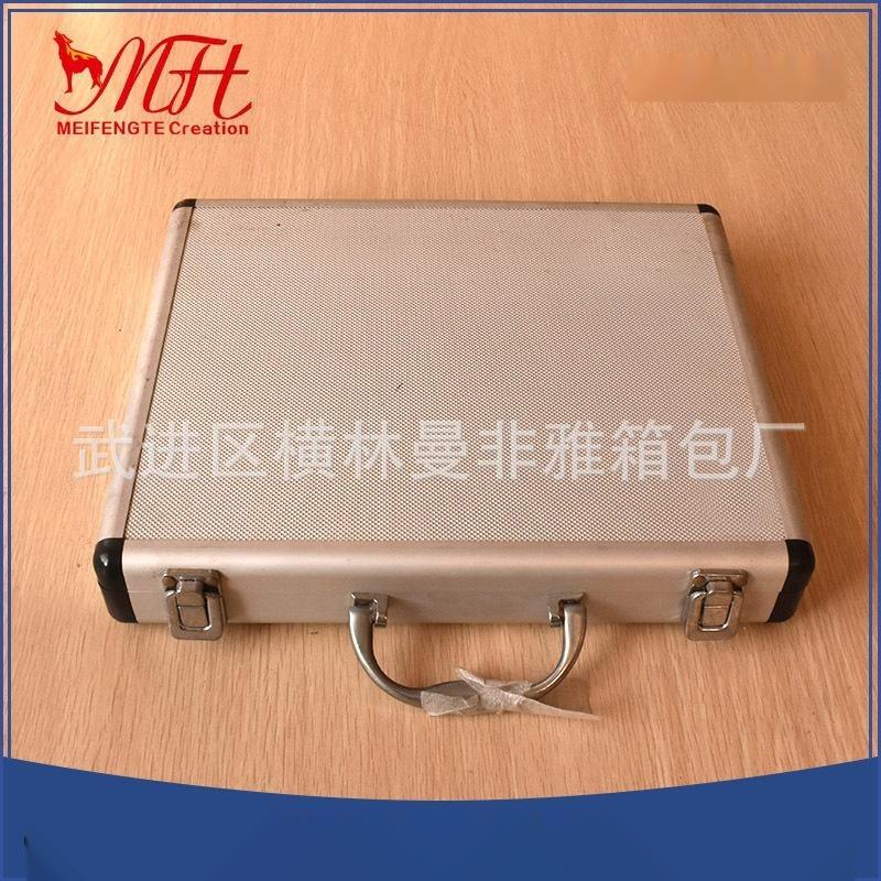 厂家直销家用车载铝合金工具仪器设备箱 定制多规格铝合金航空箱