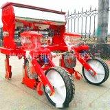 拖拉機帶玉米播種機 玉米精播種植機 兩行玉米免耕懸浮式播種機