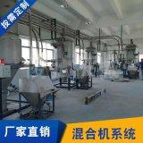 液壓混合系統 粉狀物料配混系統 多用途混合機計量稱重系統