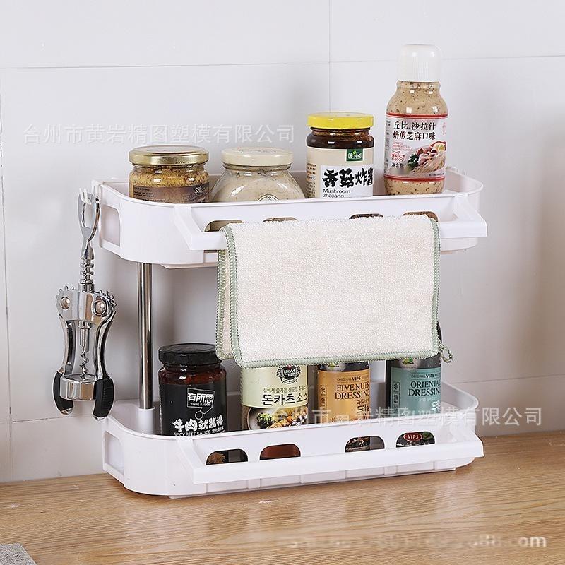 置物架**不锈钢置物架浴室厨房收纳整理架墙壁吸盘创意货架