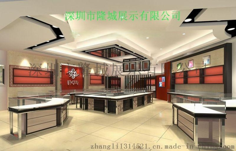 珠宝展柜、珠宝展柜订制、珠宝展示柜设计制作