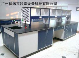 全木实验台 厂家定制 实验室全木结构边台 中央台 工作台