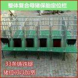 长期供应复合板定位栏母猪保胎床