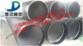 漯河钢带增强HDPE波纹管埋地排水管厂家