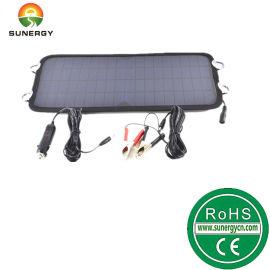 12V8.5W太阳能汽车充电器防电瓶亏电车载充电器