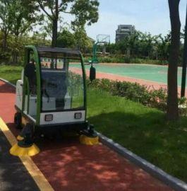 园区清扫保洁用驾驶式电动扫地机