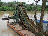 河道洗矿淘金机 挖沙 抽沙采金船 水上淘金好用的