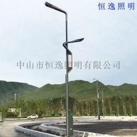 铝制户外照明智慧路灯 中山恒逸智慧路灯