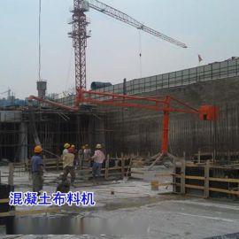 辽宁朝阳市电动布料机施工案例