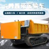 工程履带运输车 多地形农用装载运输车手推履带车