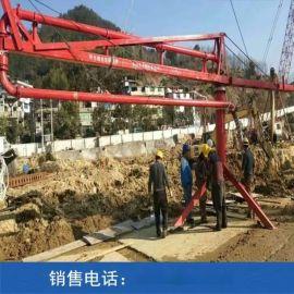 广西混凝土布料机15m圆筒建筑布料机厂家供应