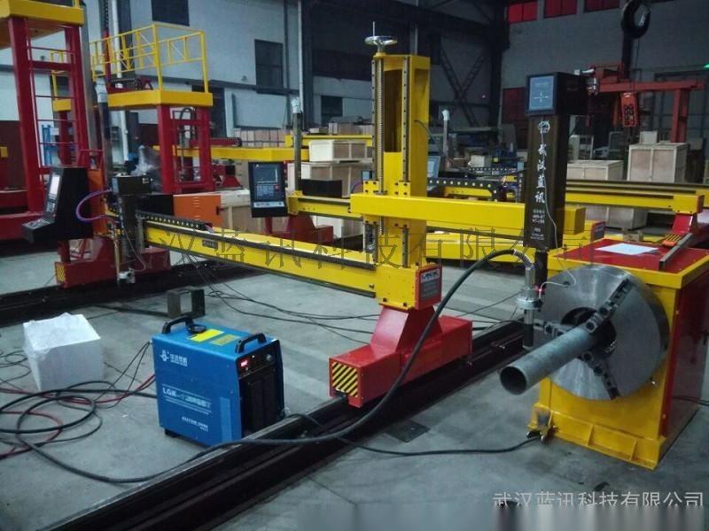 数控管板一体机 6米龙门等离子管板一体切割机