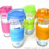 高弹性柔滑易清洗便携硅胶水瓶套环保水瓶保护套食品级