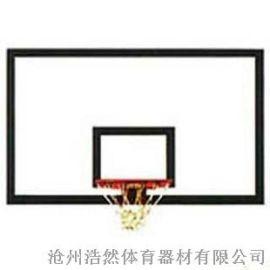 预埋式玻璃钢篮板 沧州浩然体育篮板