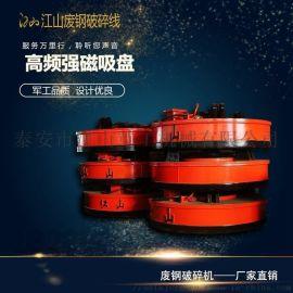 供应电磁吸盘 圆形高频强磁吸盘生产厂家