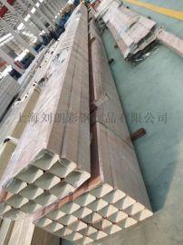 彩钢落水管 金属排水管 铝合金方形雨水管
