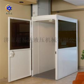 订制小型家用电梯 复式二层别墅电梯 无障碍升降平台