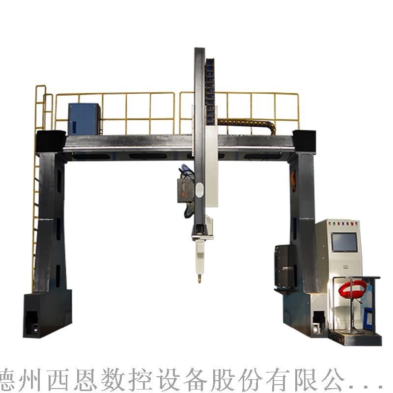山东西恩厂家生产坡口封头切割机 封头等离子切割机