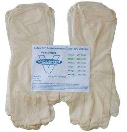 一次性白色检查丁腈手套