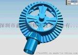 靜音大扭力超薄齒輪箱設計_電動拖把拖地機器人適用