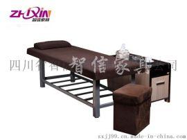 智信家具按摩床美容床钢架按摩床实木按摩床ZXC010