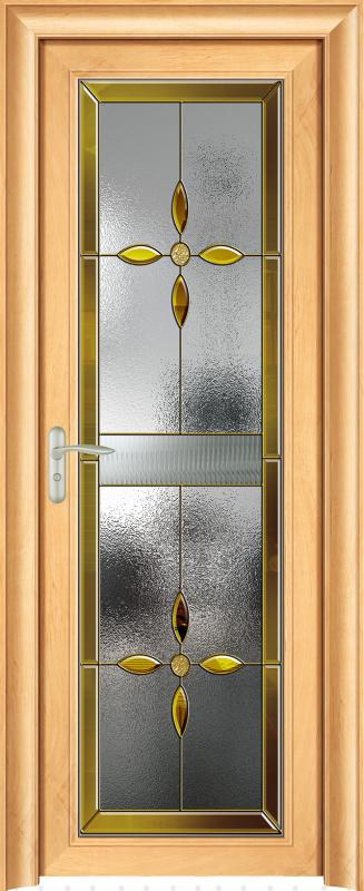 静音卫浴平开门经典铝合金83系列