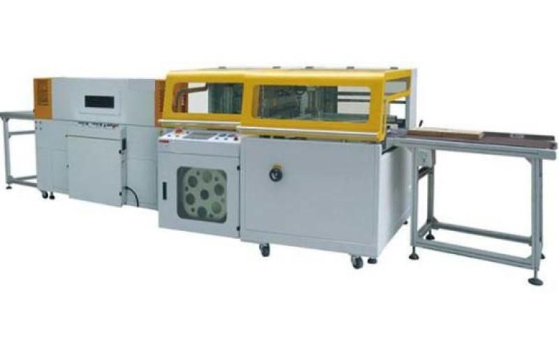 晉江全自動套膜熱收縮包裝機/高速全自動邊封機功能多